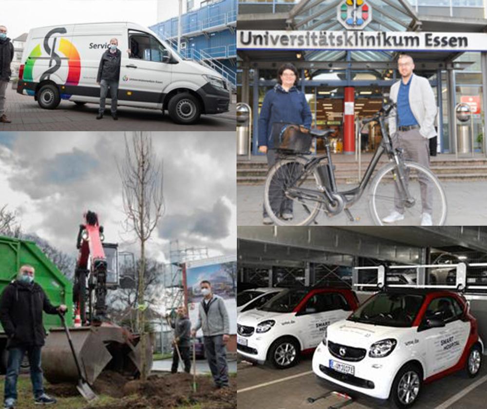 Collage Projekte Nachhaltigkeit